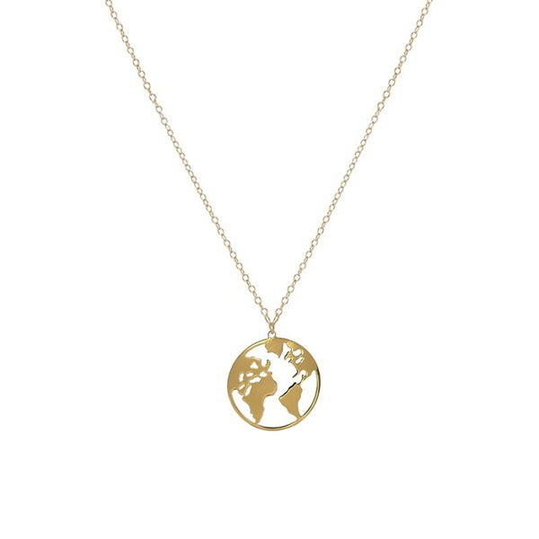 Collar World mini Gold