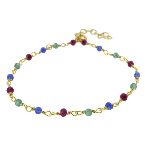 Pulsera Stone Colour Gold