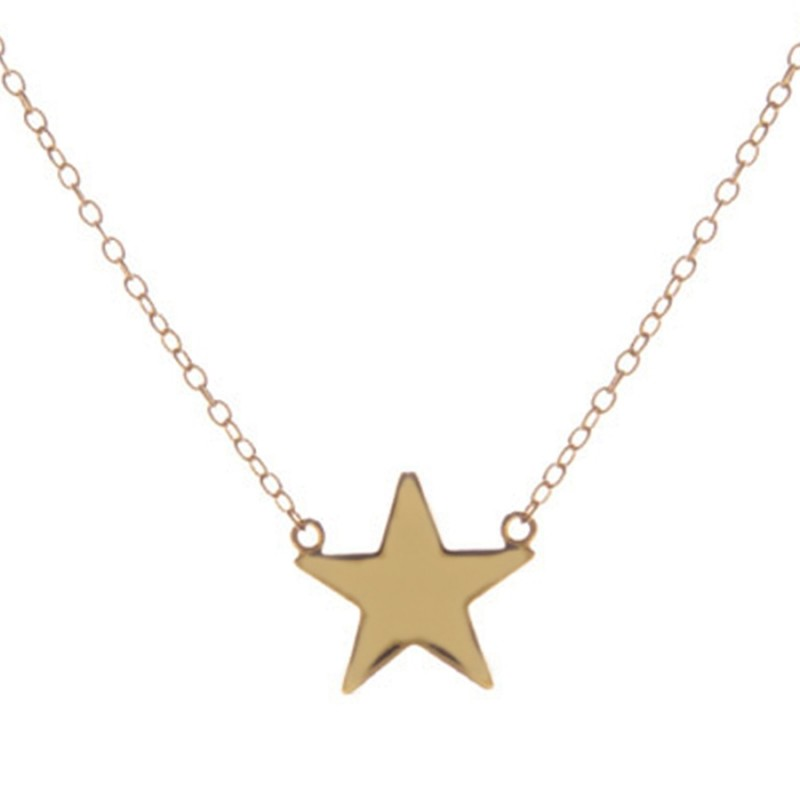 Leila Star Gold necklace
