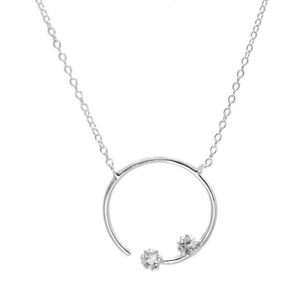 Collar Moon Chic Silver