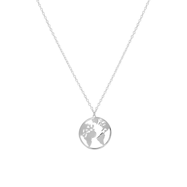 Collar Mini World Silver