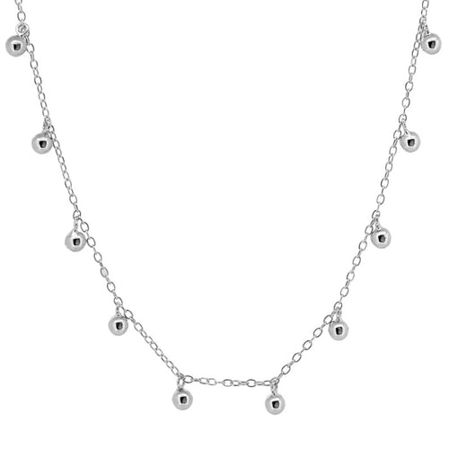 Candela Silver necklace