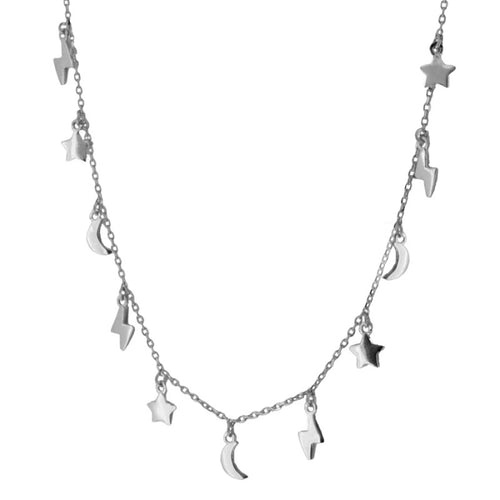 Laia Silver necklace