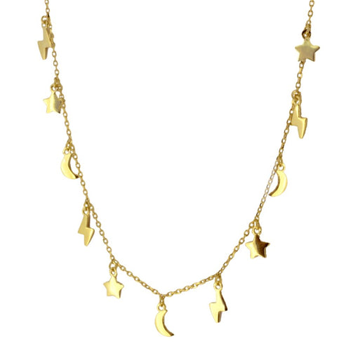 Laia Gold necklace
