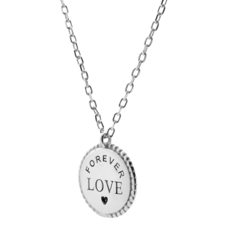 Love Forever Silver Necklace
