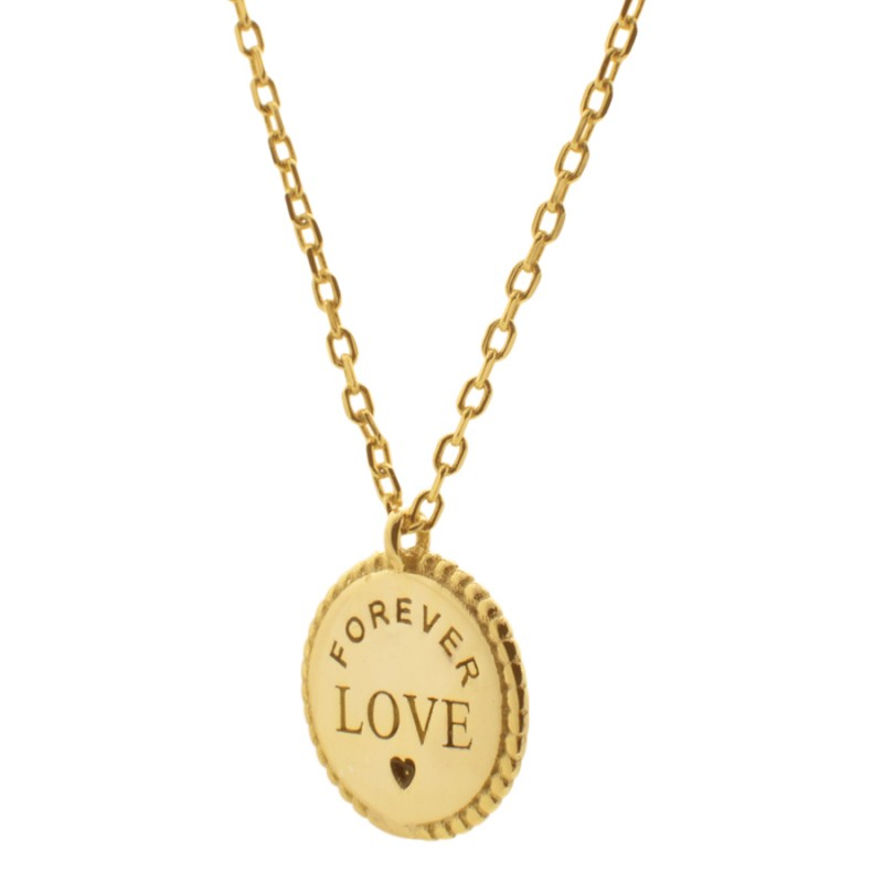 Collar Love forever Gold