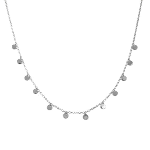 Oslo Silver Necklace