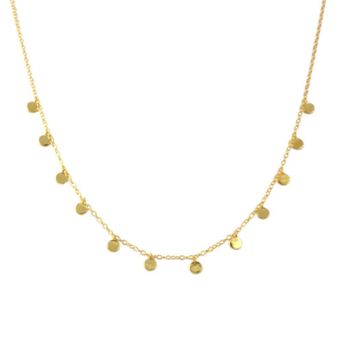 Oslo Gold Necklace