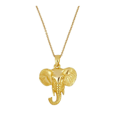 Collar Big Elephant Gold