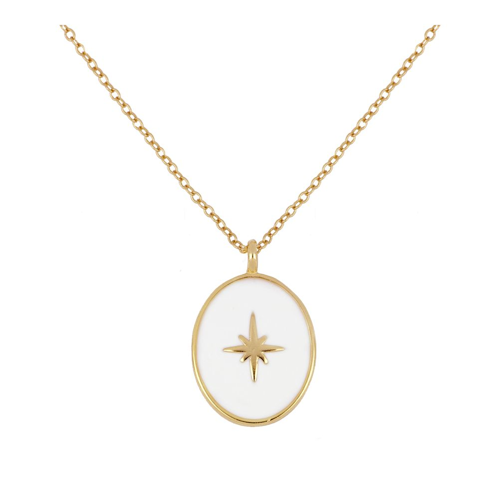 Collar Compass Rose Gold