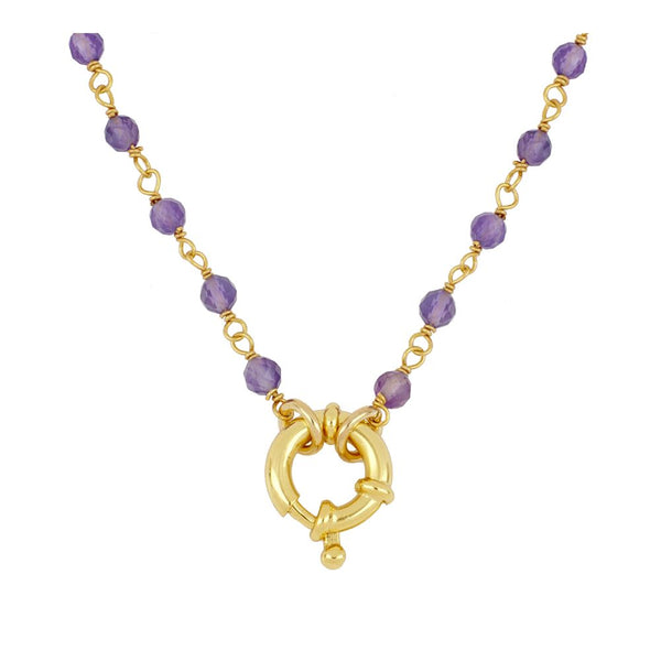 Collar Odin Violet Gold