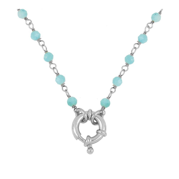 Collar Odin Blue Silver