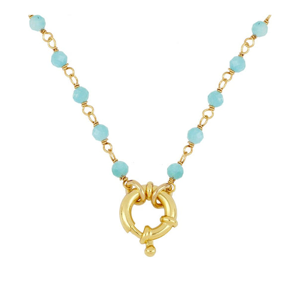 Collar Odin Blue Gold