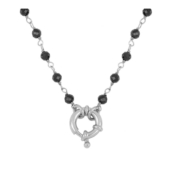 Collar Odin Black Silver