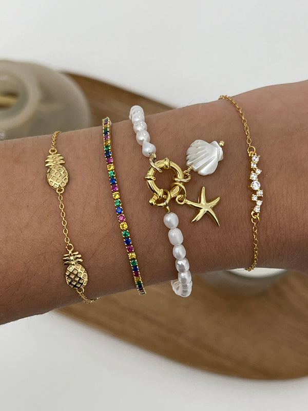 Pulsera Beach Gold