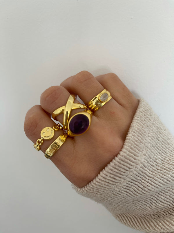 Anillo Smile Gold