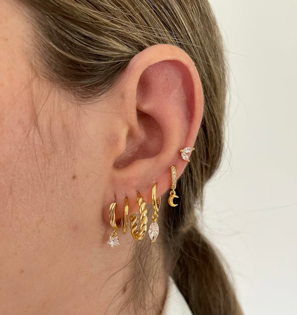 Pendientes Anthe Gold