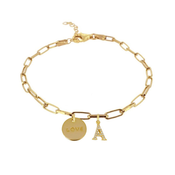 Pulsera Tadea Love Gold