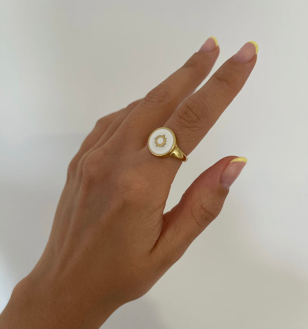 Anillo Summer Sun Gold