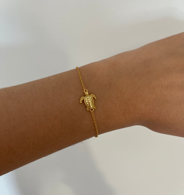 Pulsera Turtle Gold
