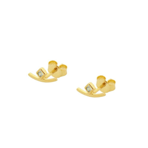 Tailor Gold Earrings