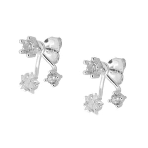 Gabriella Silver earrings