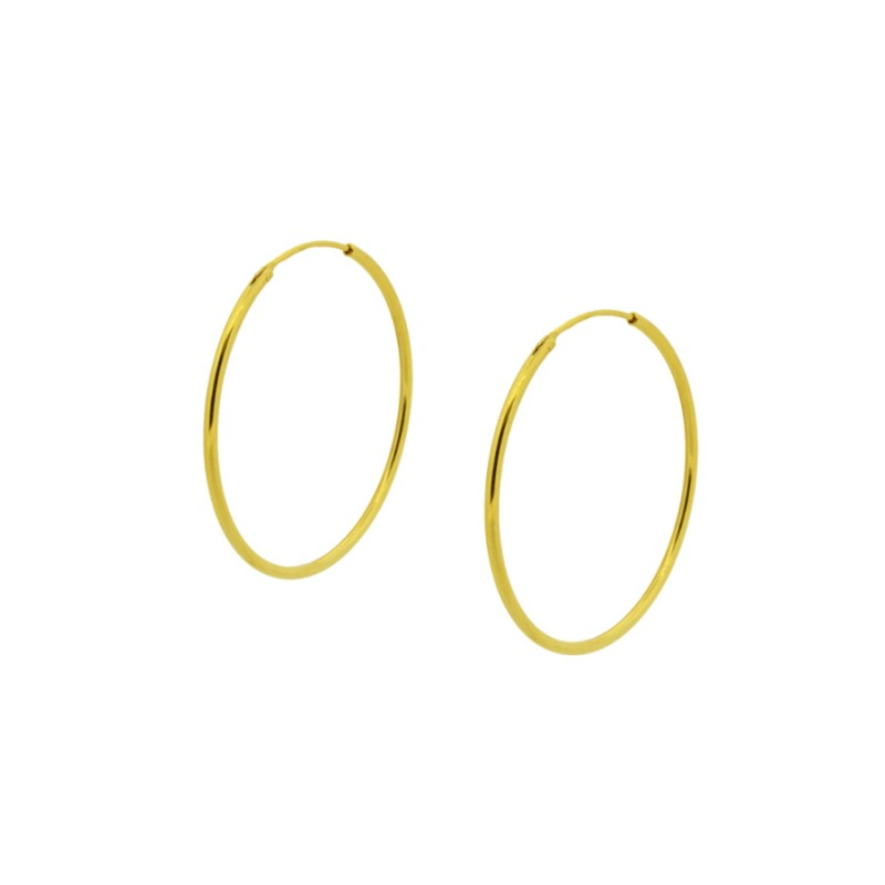 Neux Gold Hoop Earrings