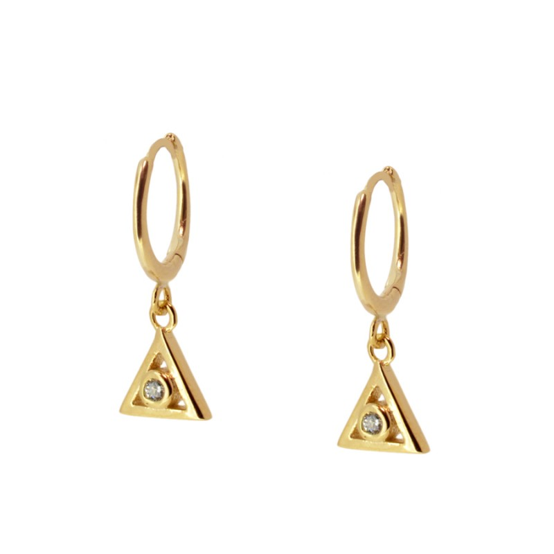 Charm Gold earrings