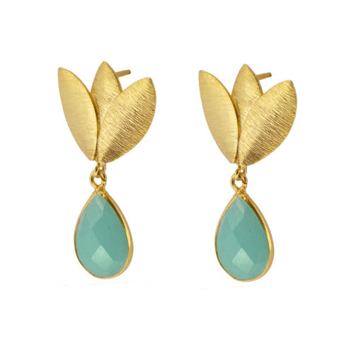 Agora Aqua earrings