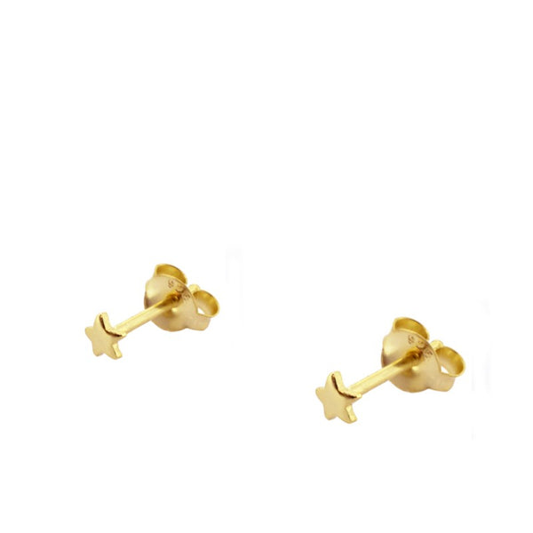 Pendientes Star Mini Gold