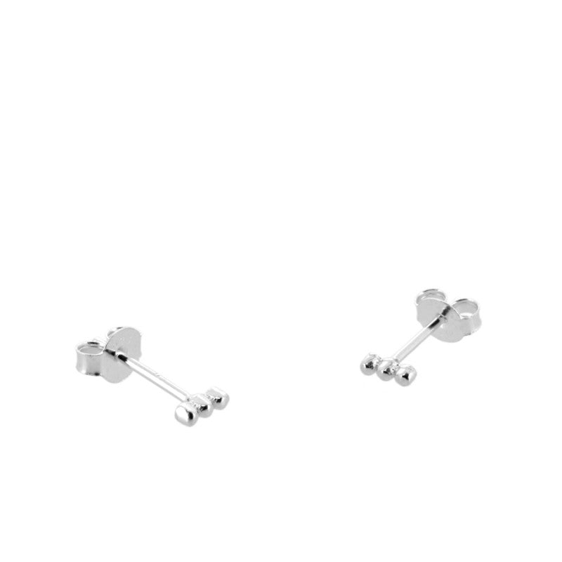 Pendientes Mini Points Silver