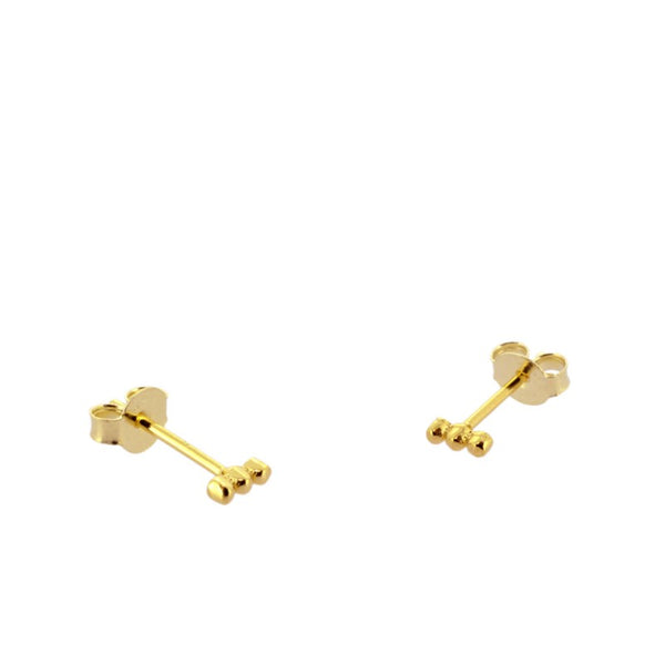 Pendientes Mini Points Gold