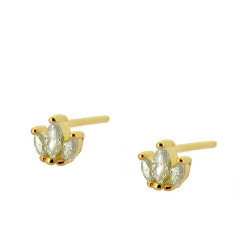 Lulu Gold earrings