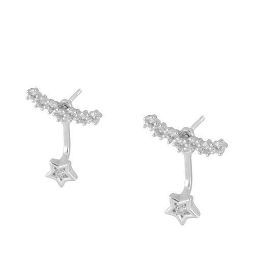 Diamant Silver earrings