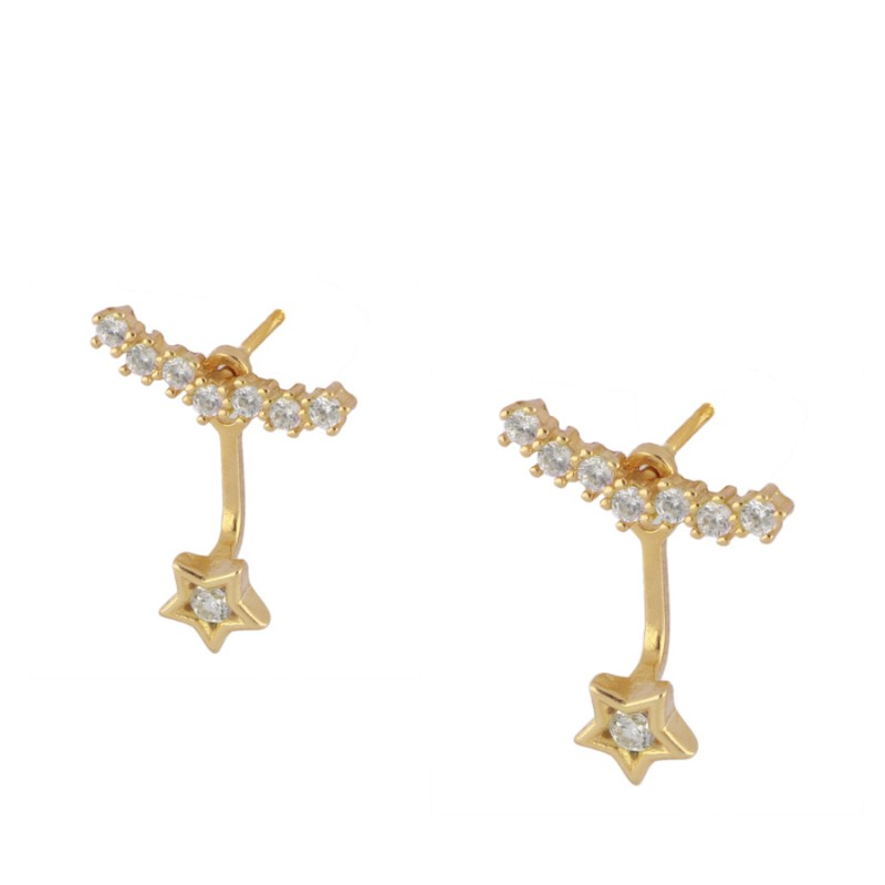 Diamant Gold earrings