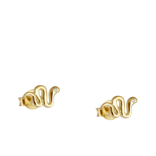 Snake Luxe Gold earrings