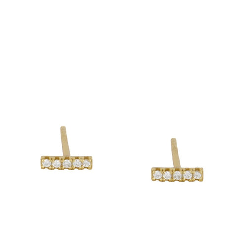 Point Anne 2 Gold earrings