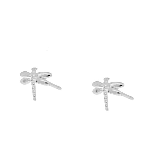 Dragon-Fly Silver Earrings