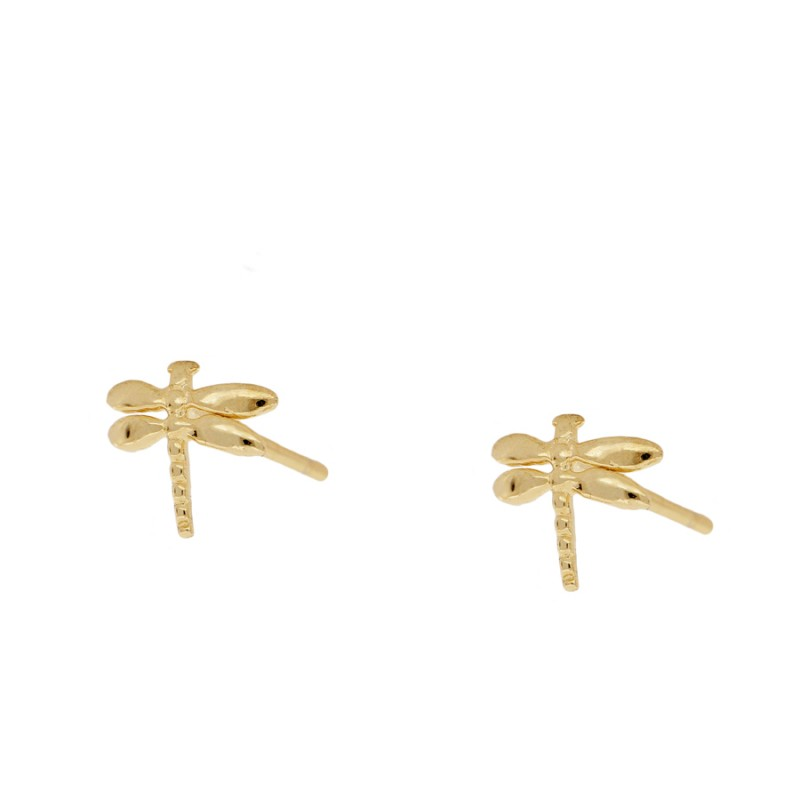 Dragon-Fly Gold earrings