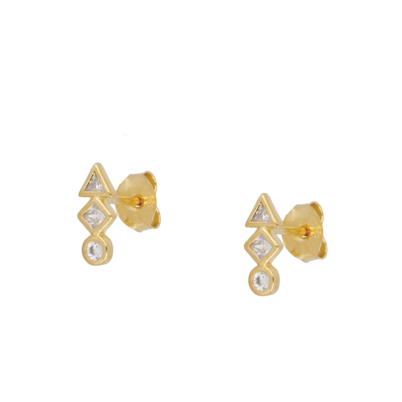 Safari Gold earrings