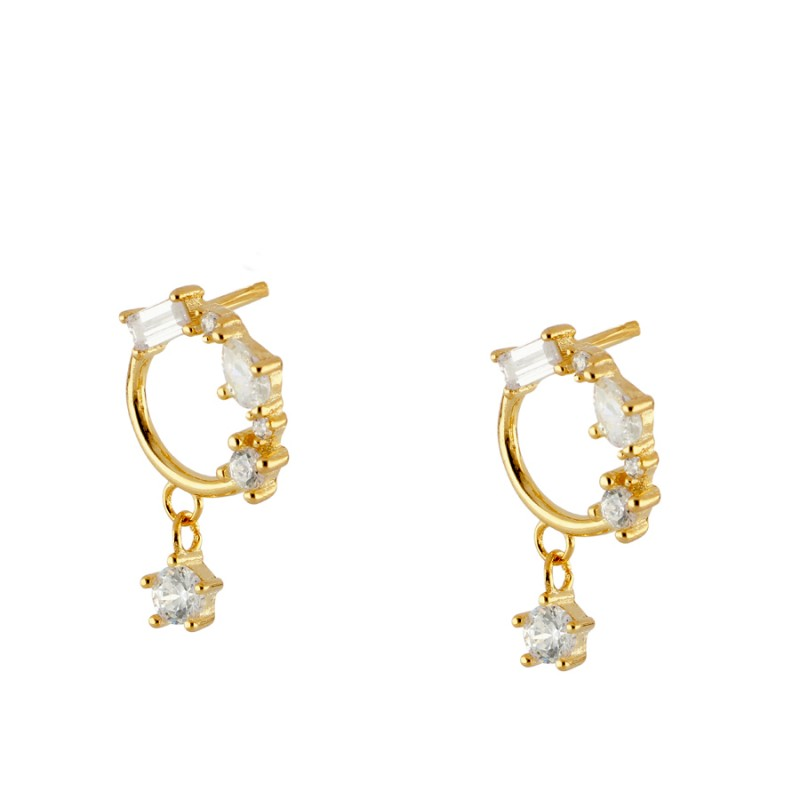 Princess Gold earrings