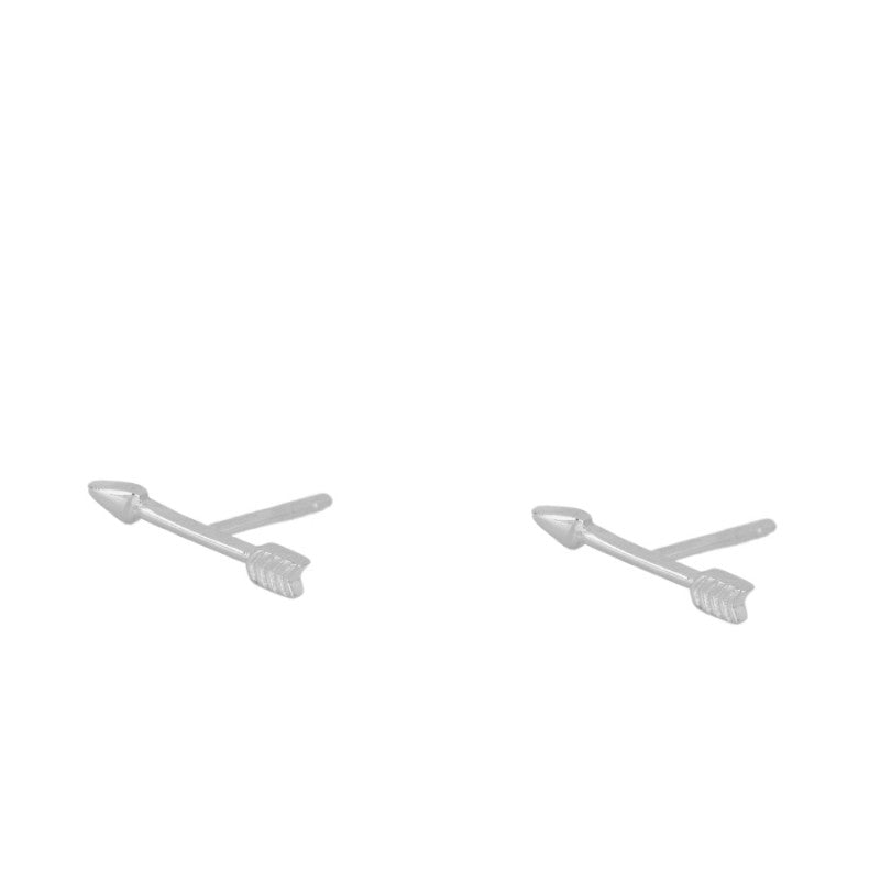 Silver Arrow Mini Earrings