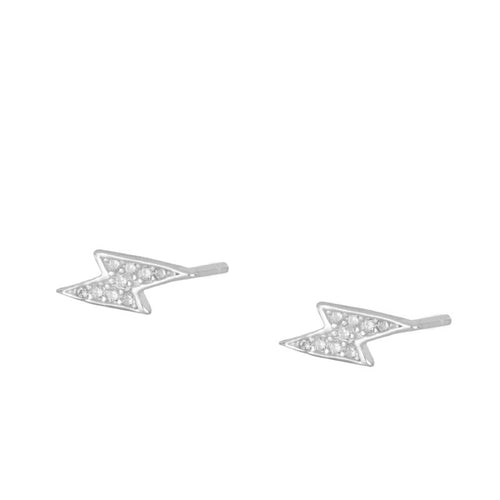 Olivia Thunder Silver earrings