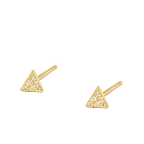 Triangle Mini Gold earrings