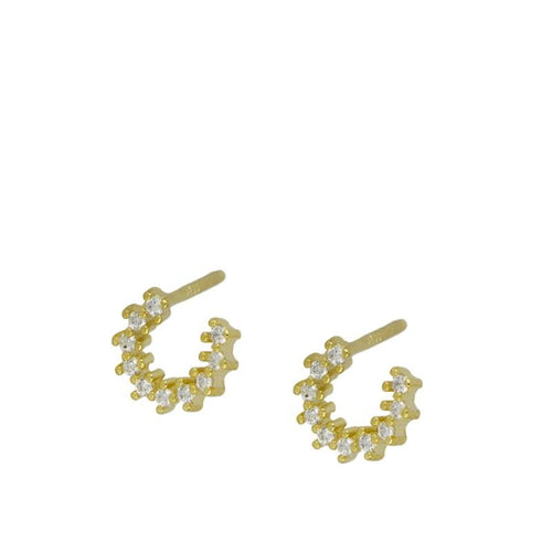 Cathie Gold earrings