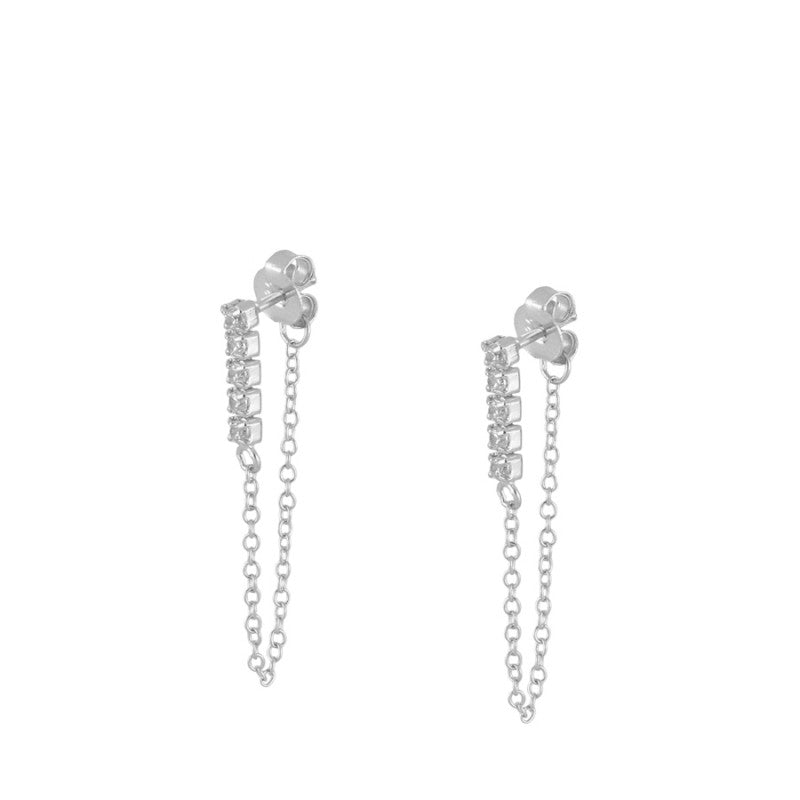 Petra Silver Earrings