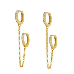 Mabel Gold earrings