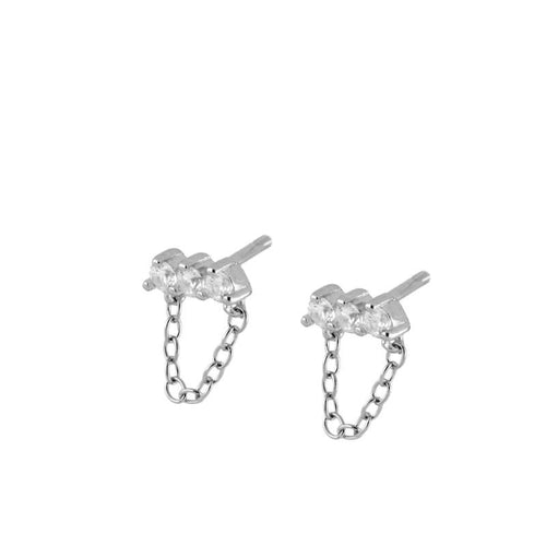 Noel Silver Earrings