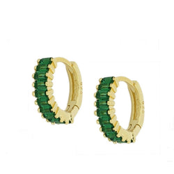 Agatha Green Gold Earrings