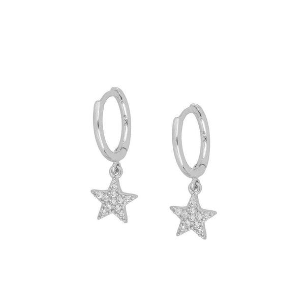 Pendientes Magic Star Silver